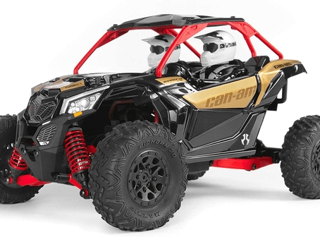The BEST SIDE X SIDE RC CAR!             Axial Yeti Jr. Can-Am Maverick X3 RC Rock Racer