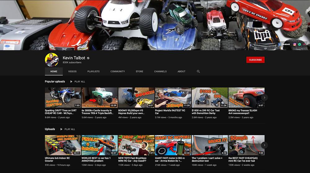 Kevin Talbot Youtube