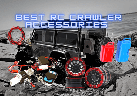 The BEST 1/10 Scale RC Rock Crawler Accessories and Upgrade Parts