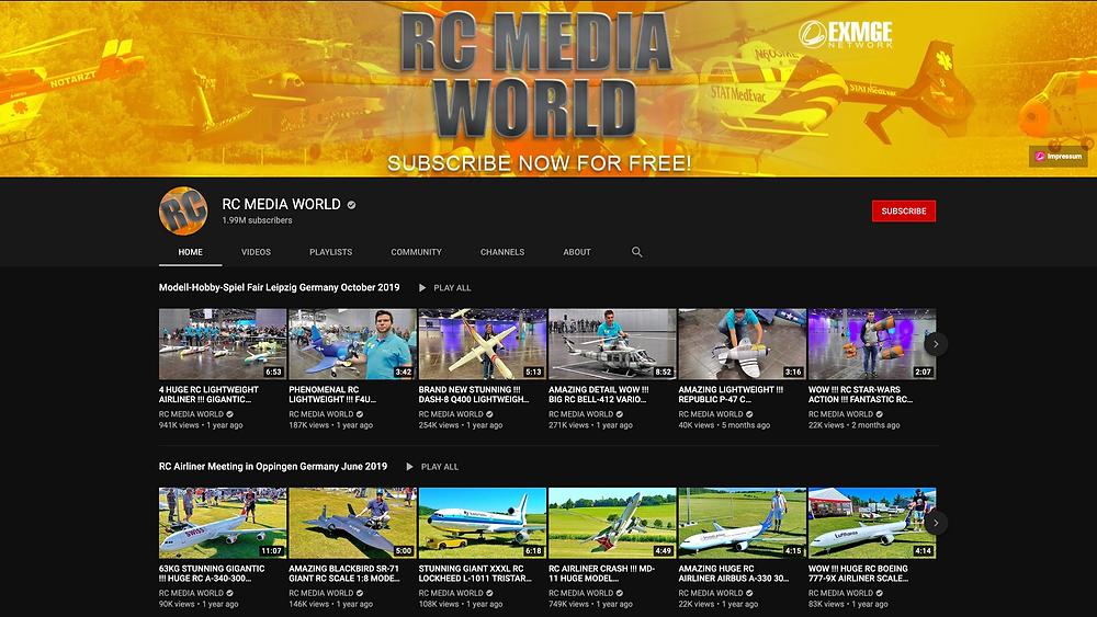 RC Media World Youtube