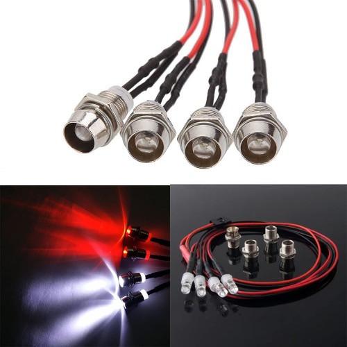 RC Car LED Headlight Taillight Kit