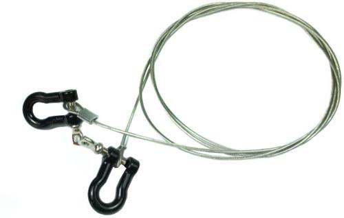 RC Rock Crawler Steel Tow Rope