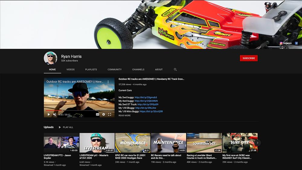 Ryan Harris YouTube channel