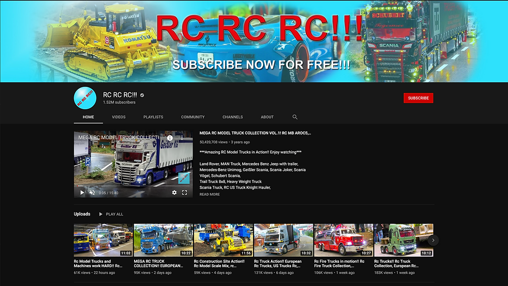 RC RC RC Youtube