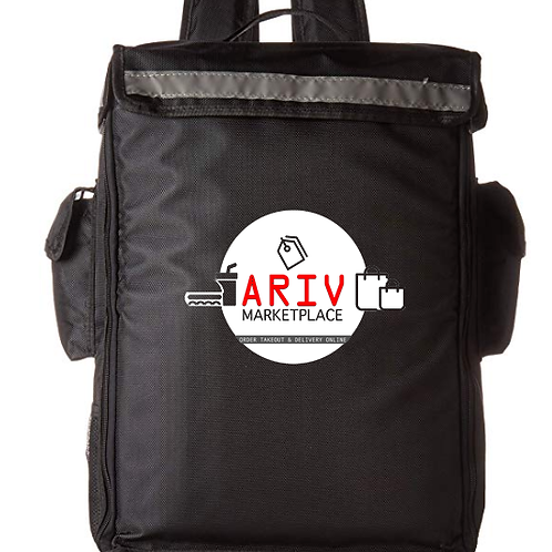Ariv Marketplace Food Delivery Backpack