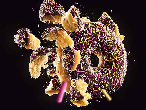 Chocolate Sprinkle Donut