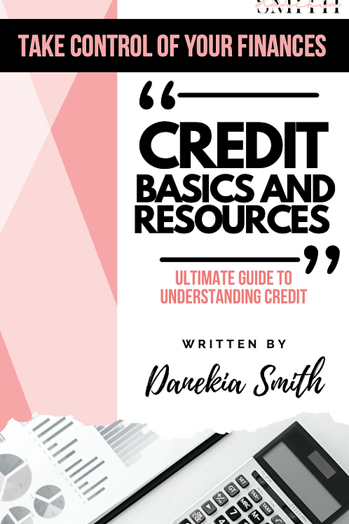 Credit Basics and Resources