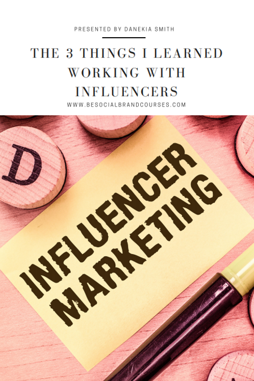 The Formula for Working with Influencers