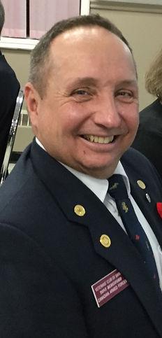 VCB Bugler Tony Beresford, 8 Nov 2018.jp