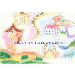 [ Dreamin' ]  Watercolors,