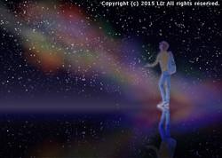 星空のウユニ