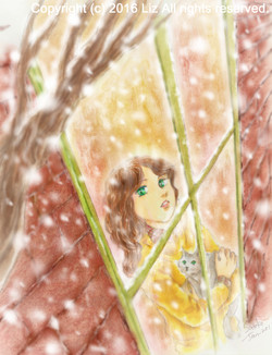 [ A Snowing Day ]  ゆきの日