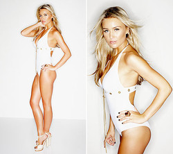 Hairstyling for Alex Curran