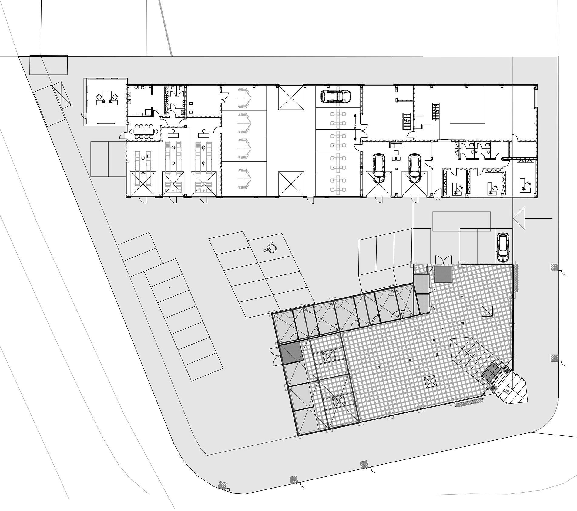 architekten adomeit felkenneyer und m tzing autohaus. Black Bedroom Furniture Sets. Home Design Ideas