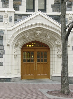 Harris Hall Facade Restoration