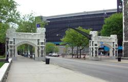 Neo-Gothic Gates Restoration
