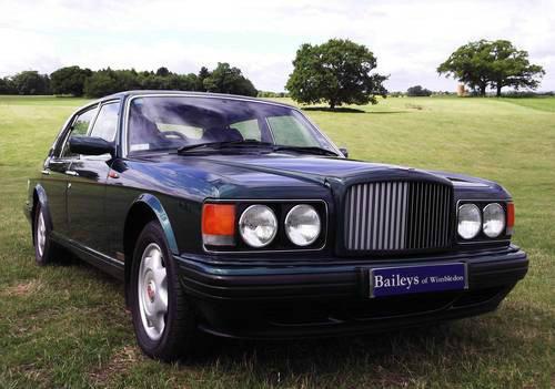 1996 Bentley Turbo 'RL' Long Wheel Base Sports Saloon