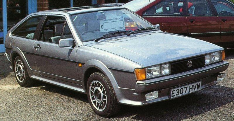 1989 Volkswagen Scirocco MkII 1.8 'Scala'
