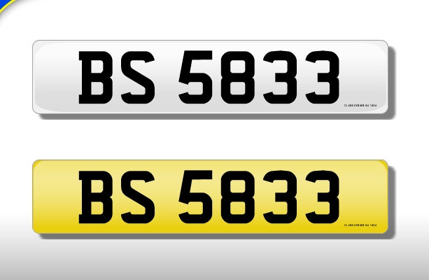 BS 5833 Cherished Number