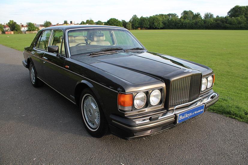 1989 Bentley Mulsanne 'S' Sports Saloon
