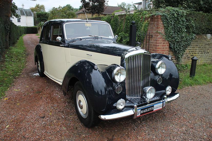 1953 Bentley R - Type 4.5 Litre Sports Saloon