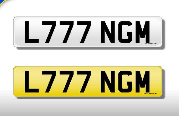 L777 NGM - Cherished Number