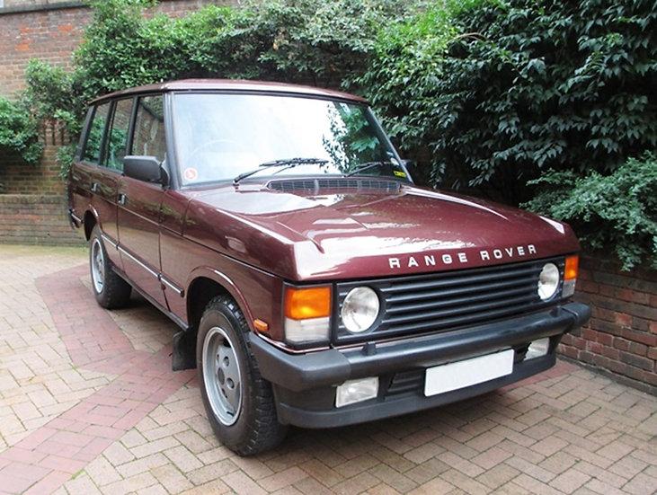 1989 Range Rover Classic 3.5 EFi 'Vogue'
