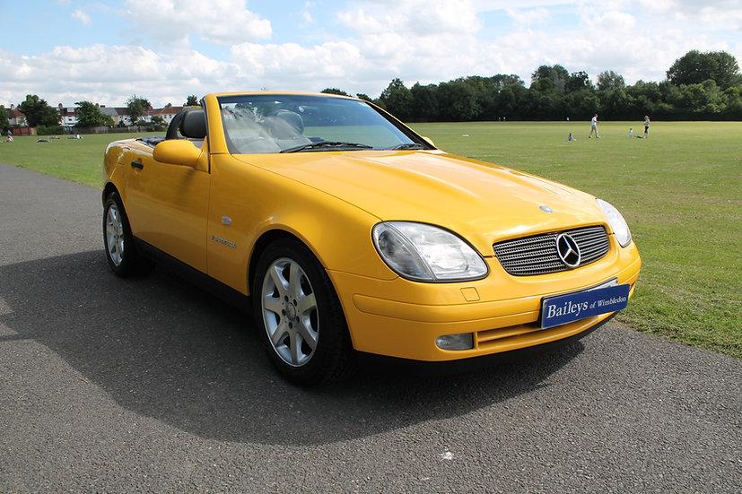 1997 Mercedes Benz SLK 230 Kompressor R170