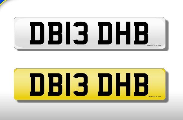 DB13 DHB - Cherished Number