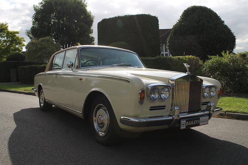 1969 Rolls Royce Silver Shadow I 'Chippendale Dashboard'