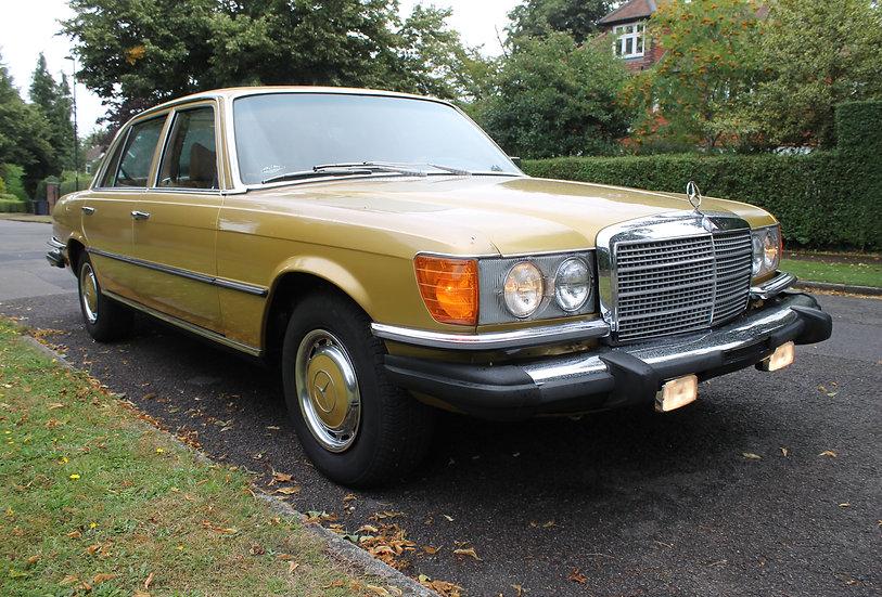 1976 Mercedes Benz 450 SEL '116' LHD