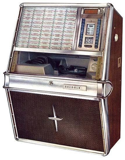 1965 Rock-Ola 430 Wall Mounted Jukebox