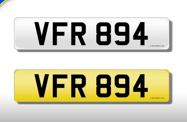 VFR 894 - Cherished Number
