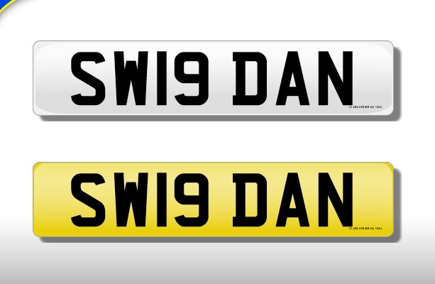 SW19 DAN - Cherished Number