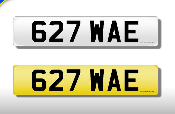 627 WAE - Cherished Number