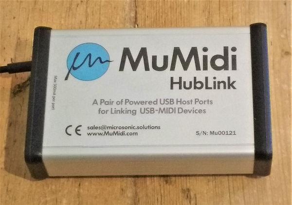 MuMidi HubLink