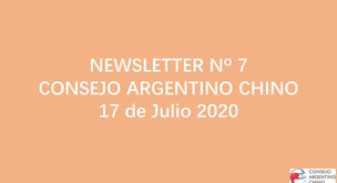 NEWSLETTER Nº 7 - Consejo Argentino Chino