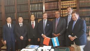 El Colegio de Abogados recibió a una delegación de la Sociedad de Derecho de Guangzhou