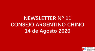NEWSLETTER Nº 11 - Consejo Argentino Chino