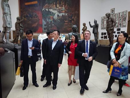 Boca Junior y el Ministerio de educación de Guangzhou firman acuerdo de cooperación.