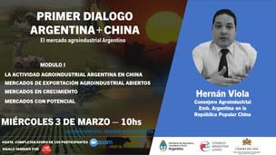Se realizó con éxito el 1º módulo del PRIMER DIÁLOGO ARGENTINA + CHINA