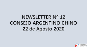NEWSLETTER Nº 12 - Consejo Argentino Chino