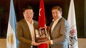 El Embajador Zou Xiaoli se reunió con el Secretario General del Gobierno de CABA