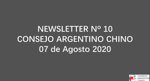 NEWSLETTER Nº 10 - Consejo Argentino Chino