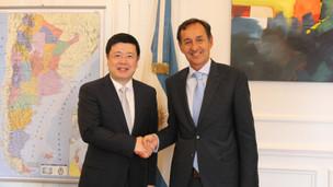 El Embajador Zou Xiaoli se reunió con el Secretario de Asuntos Estratégicos de la Nación
