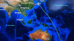 Llegó el primer vuelo proveninete de China con 13 toneladas de insumos médicos.