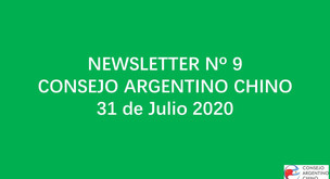 NEWSLETTER Nº 9 - Consejo Argentino Chino