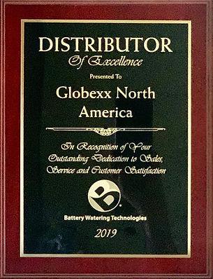 Battery Water Technologies Award | Globexx North America Inc