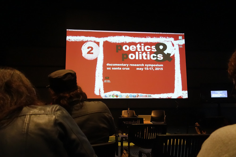 Inside the Poetics and Politics Documentary Research Symposium. (Photo: Jonathan Clugston).