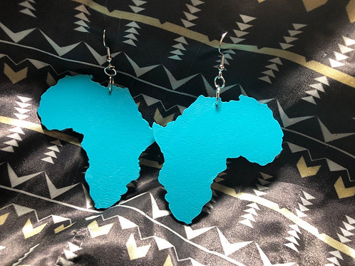 Colors of Africa~ Teal